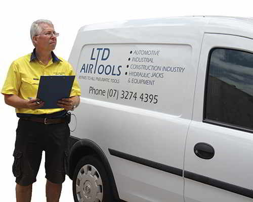 LTD Air Tools Van.